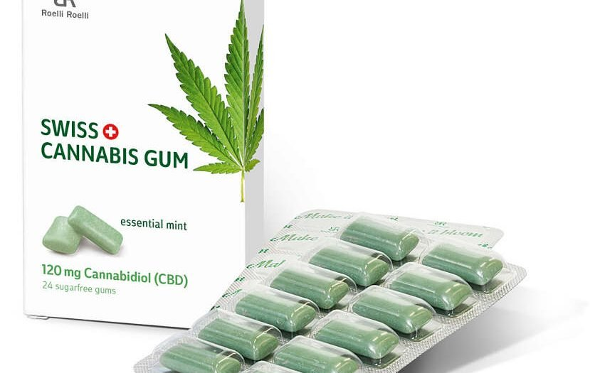 Cannabis gibt's neu auch zum Kauen