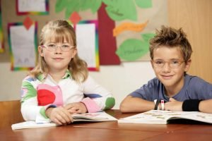 Gutes Sehen für Schulkinder sehr wichtig