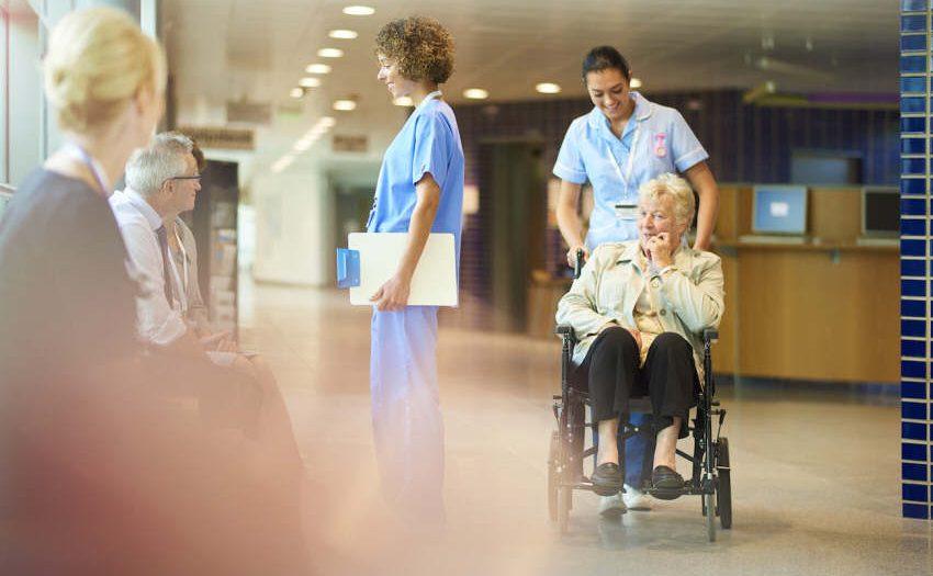 Krankenhausversorgung - Menschen mit Behinderung