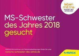 Merck - Wahl zur MS-Schwester des Jahres