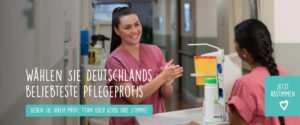 Deutschlands beliebteste Pflegeprofis