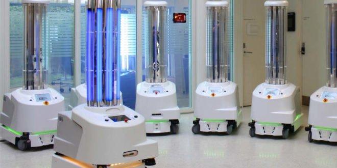 Roboter im Kampf gegen das Coronavirus