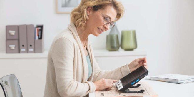 Elektronische Sehhilfen erleichtern den Alltag