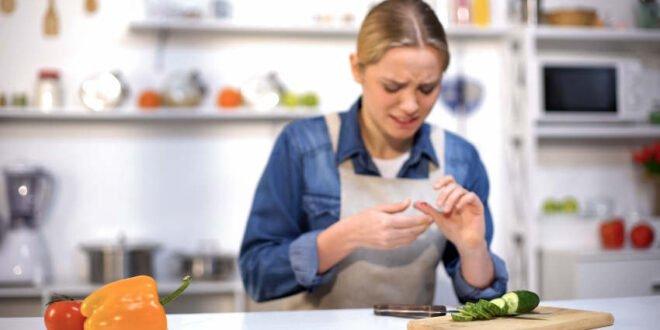 Verletzungen - Gefahrenzone Küche und Haushalt