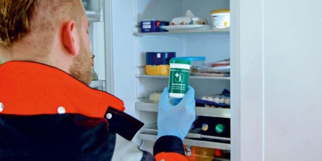 Notfalldose - Retter aus dem Kühlschrank