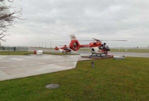 DRF Luftrettung - Christoph 114 in Sachsen im Einsatz
