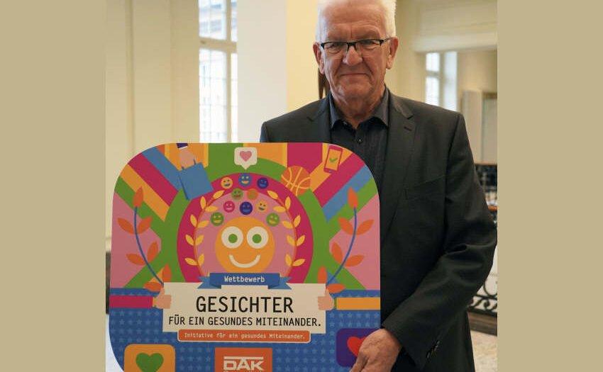 Kretschmann und DAK-Gesundheit suchen Gesichter